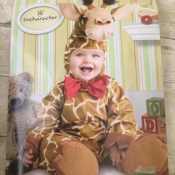 incharacter Other - Baby Giraffe Costume 18-24 months 🦒 Photo shoot